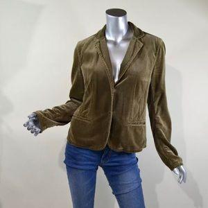 Dkny Pure Women's Medium Brown Blazer Jacket